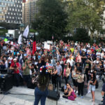 Protesters Against Vaccine Mandates in NYC: 'This Is a Turning Point'
